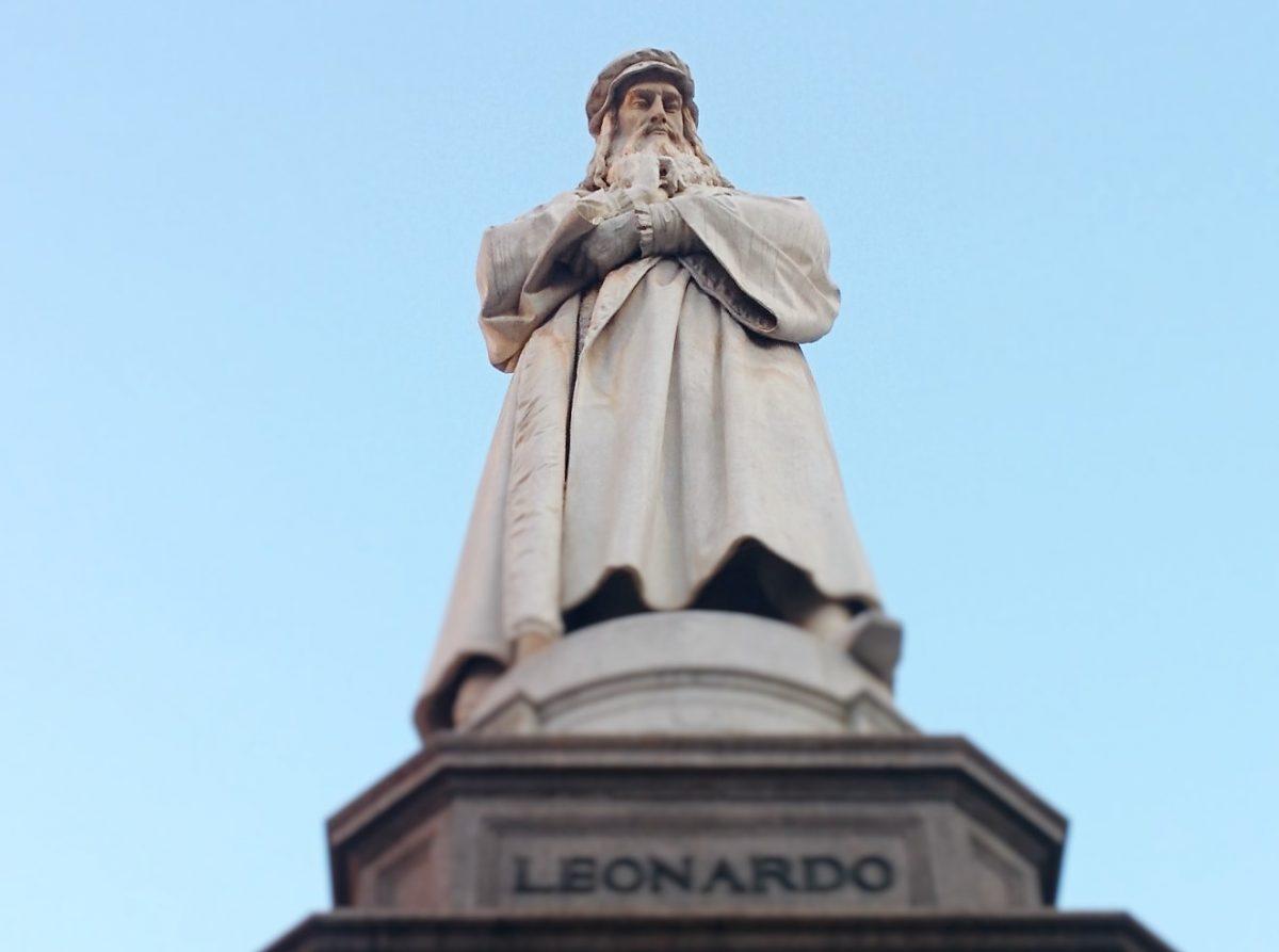 Leonardo da Vinci Denkmal